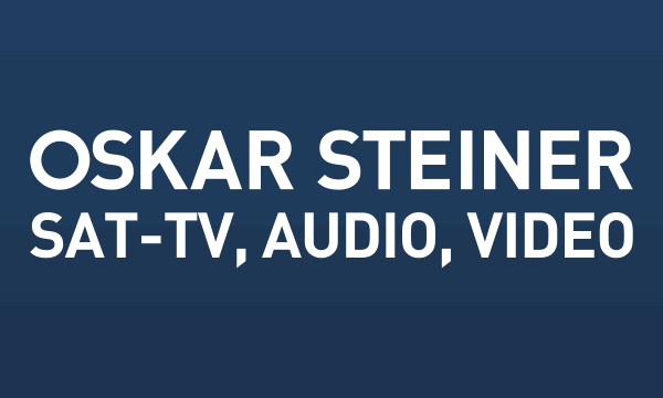 Oskar Steiner Sat-TV, Audio, Video